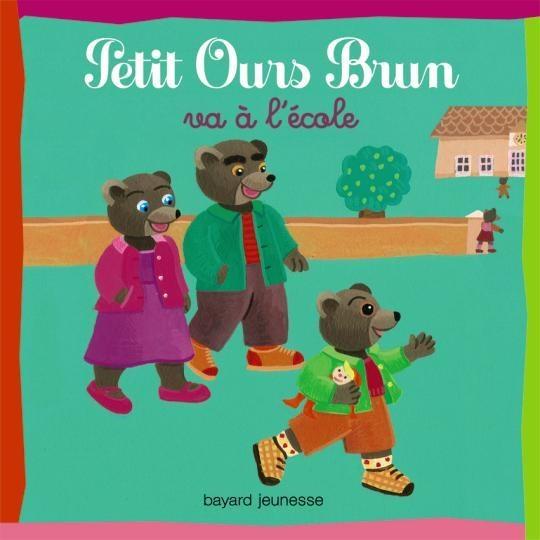Petit ours brun va l 39 cole pob series poche series in - Petit ours brun va al ecole ...