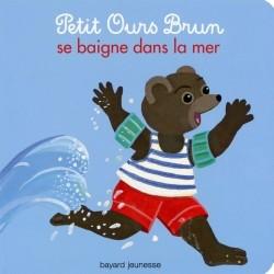 Petit ours brun se baigne dans la mer boardbook - Petit ours brun a la mer ...