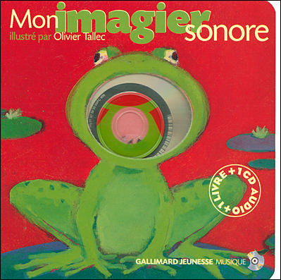 Mon Imagier Sonore 1 Livre 1 Cd Audio
