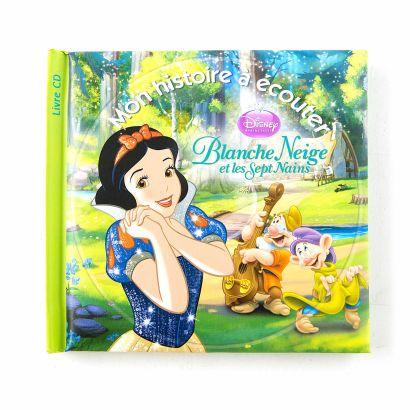 Disney S Blanche Neige 1 Livre 1 Cd Audio