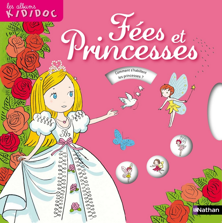 Fees Et Princesses Kididoc Livre Pop Up