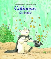 Calinours Set of 4 by Alain Broutin