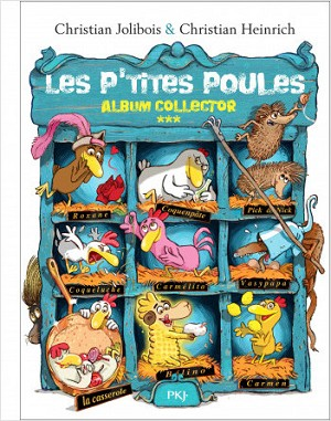 Les P'tites Poules Album Collector Tomes 9 to 12
