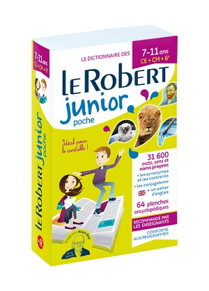 Le Robert Junior Poche paperback